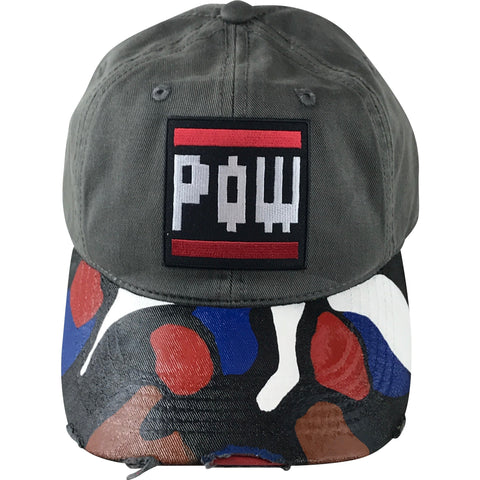 Camo Custom Dad Hat Hats- Rowlhen, LLC