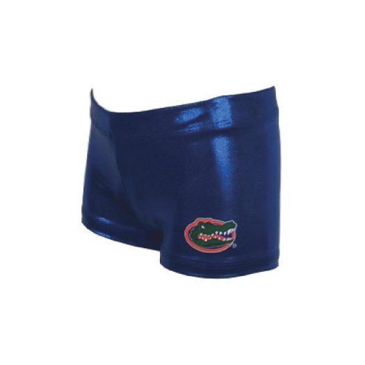 Foxy's Leotards - Florida Gators Gym Shorts - All Around Gold