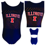 Illinois Big Ten Gymnastics Leotard