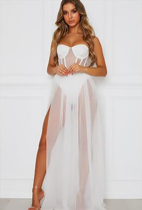 ALAA - MAXI LINGERIE DRESS