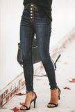 AMRITA - FLY FRONT JEANS