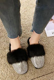 BIBI - SPARKLING FUR SLIPPER