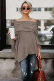 BRANDI - PONCHO SWEATER TOP