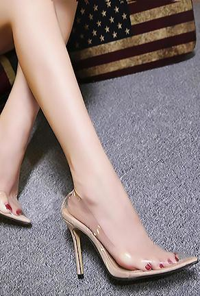 FOLARINE - TRANSPARENT PUMPS