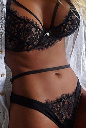 GAIL - 2 PIECE LINGERIE SET