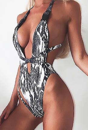 GIO - ANIMAL PRINTS SWIMSUIT