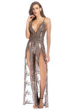 HALLE - SEQUIN LINGERIE DRESS