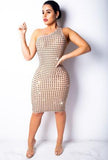 JOSI - SPARKLING STUD DRESS