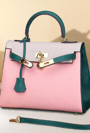 KATRIN - TRI COLOR BIRKIN BAG