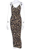 LURISHA - ANIMAL PRINTED DRESS