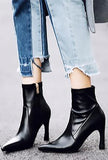 MARIOLA - SLEEK ANKLE BOOTS