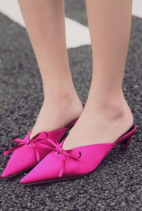 MASELLI - POINTY MULE SLIPPER