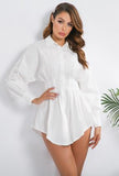 MASHAEL - BUSTIER SHIRT DRESS