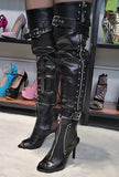MESSIKA - S&M ZIP-OFF BOOTS