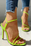 MINDY - SLEEK STRAP SANDAL
