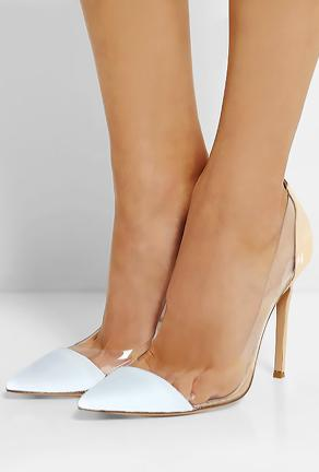 MONI - 2-TONE TRANSPARENT PUMPS