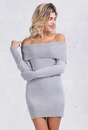 NICOLE - SWEATER DRESS