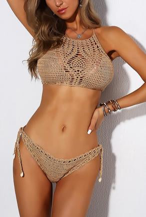 NIKIA - CROCHET 2 PIECE BEACHWEAR