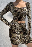TEHYA - LEOPARD CAT DRESS