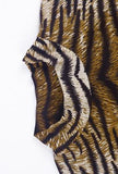TONI - ANIMAL PRINTED DRESS