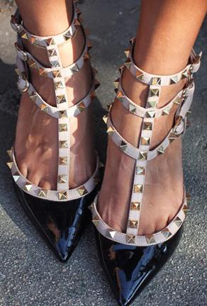 VALLY ROSE-STUDROCK HEELS