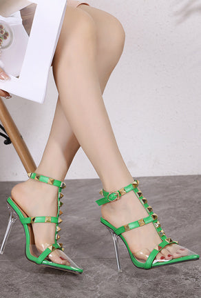 VARA - STUDROCK SPIKE SHOULDER BAG