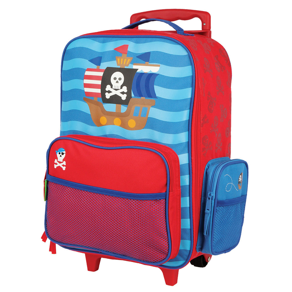 Stephen Joseph Rolling Luggage Pirate – Bizzy
