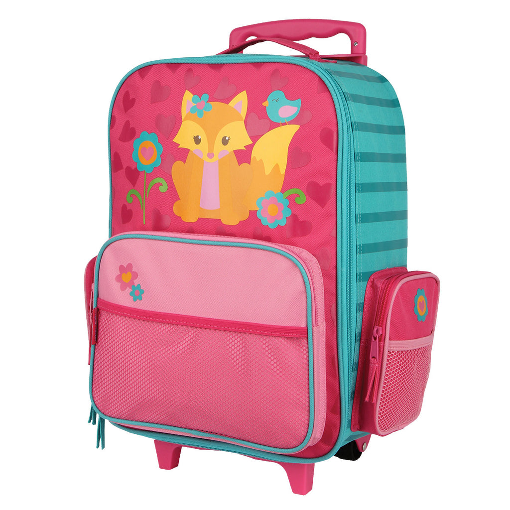 Stephen Joseph Rolling Luggage Fox – Bizzy