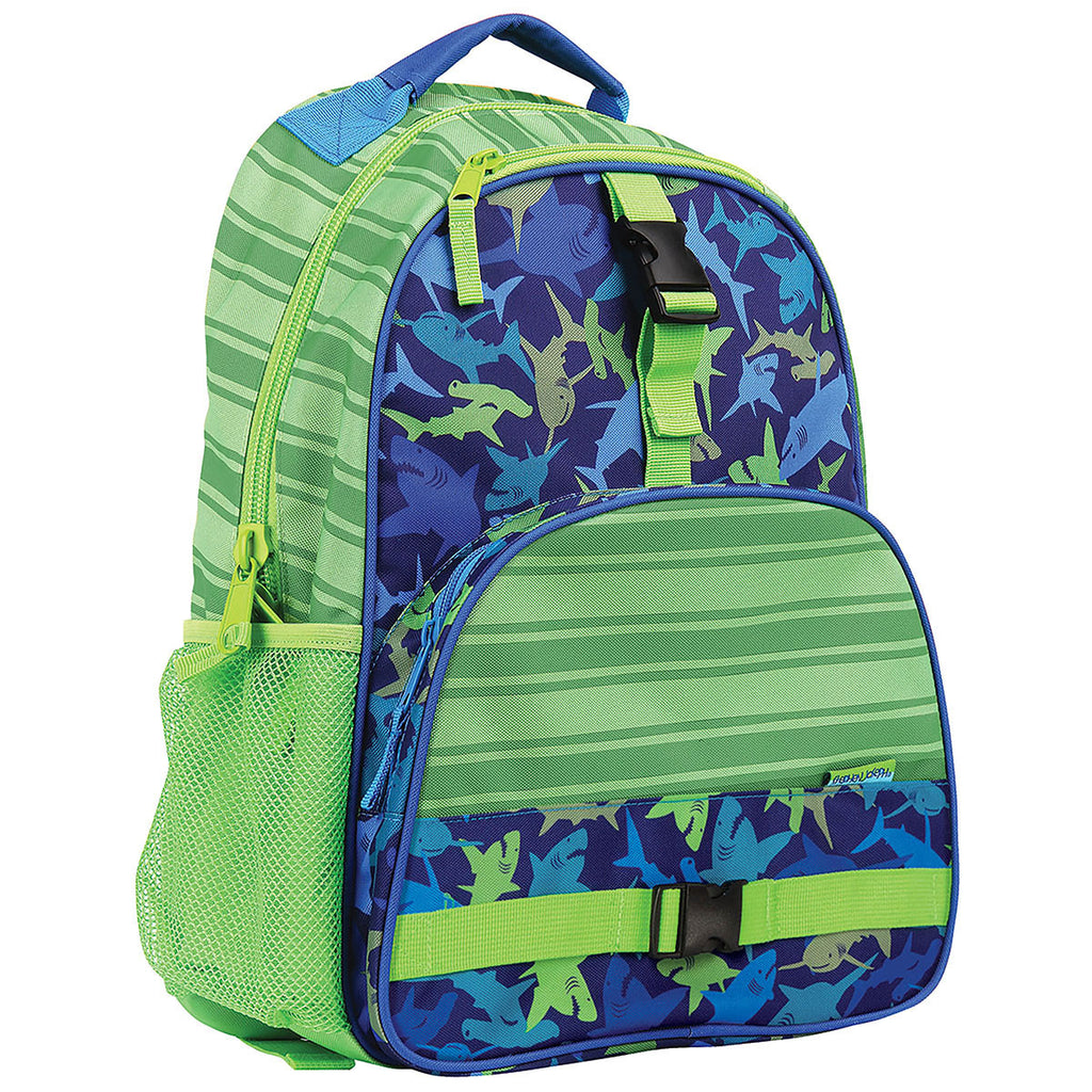 a817f9fb01 Stephen Joseph All Over Print Backpack Shark – Bizzy Bee Quilts