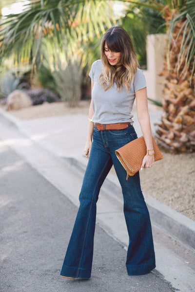 Would You Buy Flares? How To Wear Flared Jeans