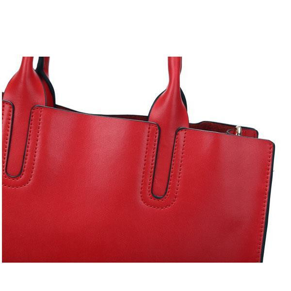 Genuine Leather Tote - Belle Valoure - 13