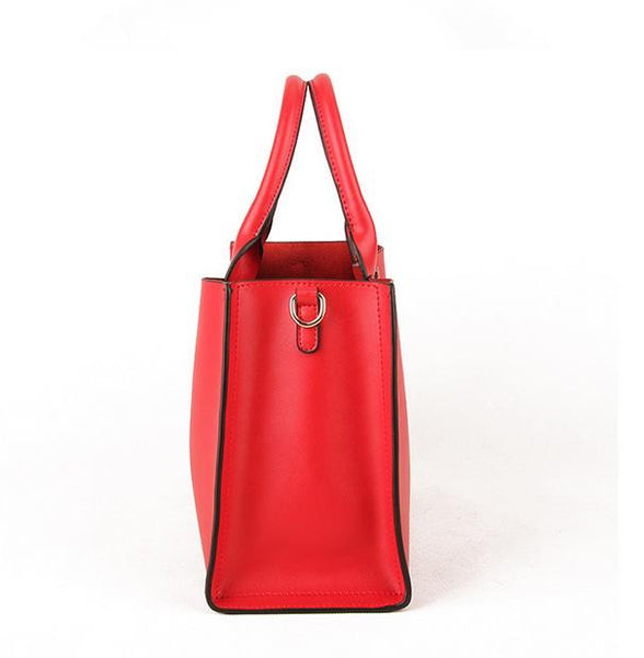 Genuine Leather Tote - Belle Valoure - 10
