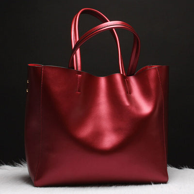 Olivia Genuine Leather Shoulder Bag - Belle Valoure - 1