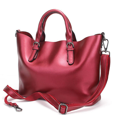 Olivia Genuine Leather Shoulder Bag - Belle Valoure - 12