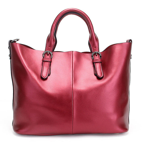 Olivia Genuine Leather Shoulder Bag - Belle Valoure - 9
