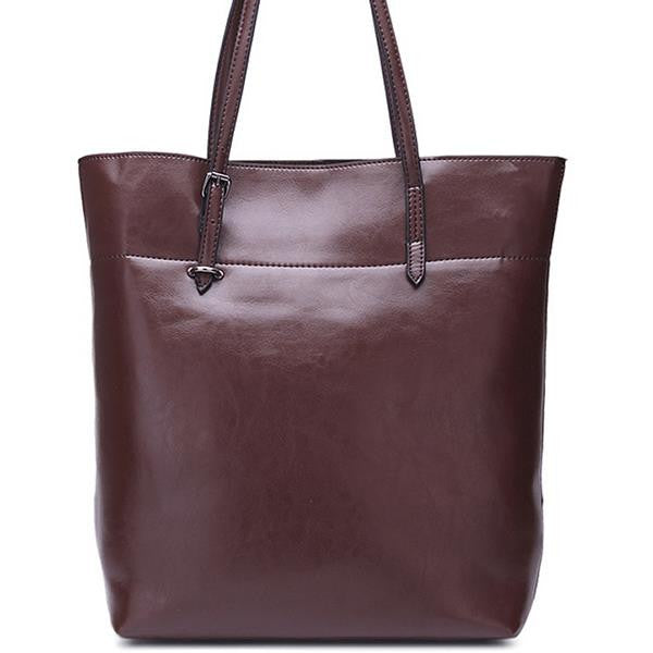 Genuine Leather Tote - Belle Valoure - 19
