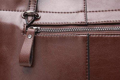 Genuine Leather Tote - Belle Valoure - 15