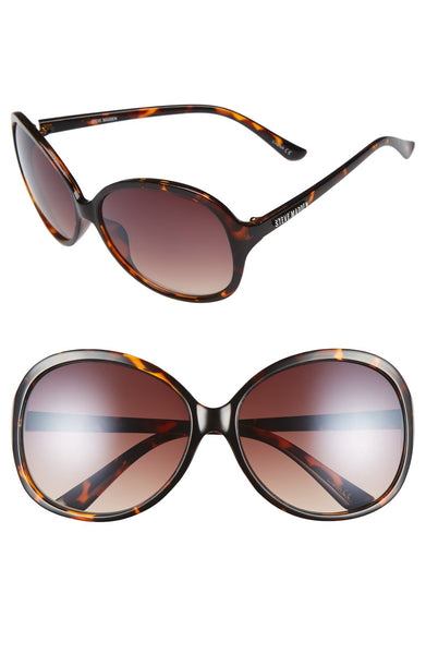Steve Madden 50mm Round Sunglasses - Belle Valoure