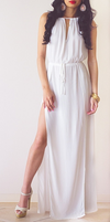 Summer Maxi Dress - Belle Valoure - 1