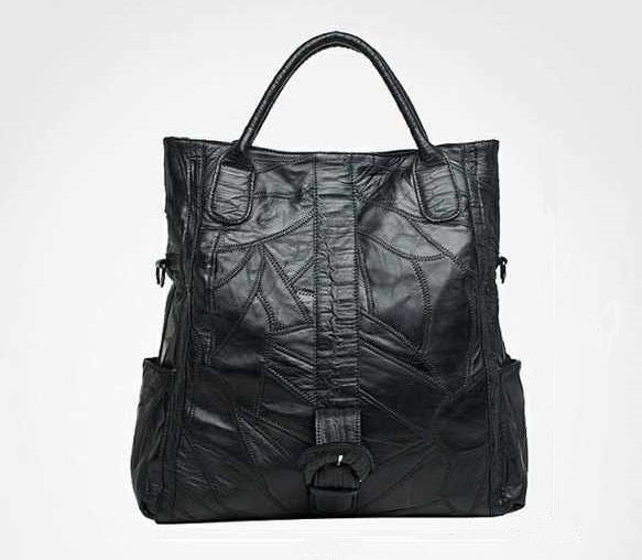 Ada Genuine Leather Folden Tote - Belle Valoure