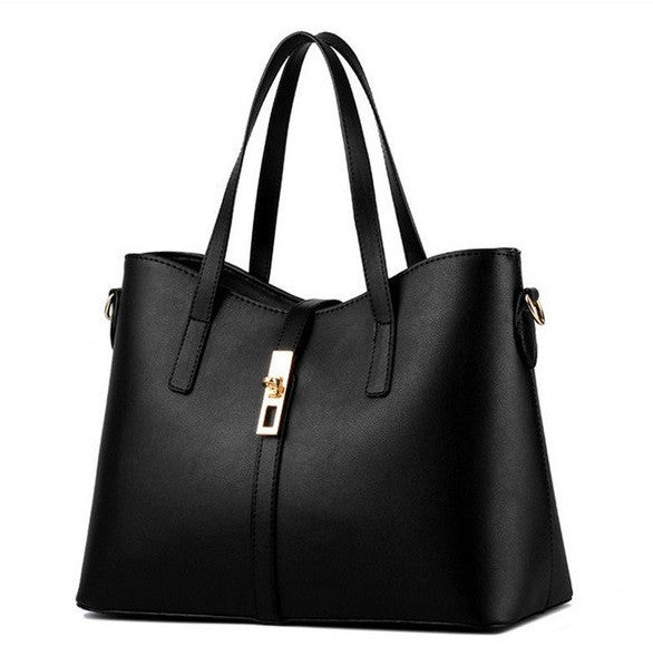 Olivia Leather Tote - Belle Valoure - 1