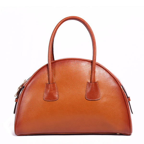 Ember Genuine Leather Handbag - Belle Valoure - 1