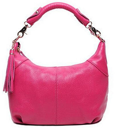 Genuine Leather Shoulder Bag - Belle Valoure - 2