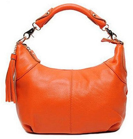 Genuine Leather Shoulder Bag - Belle Valoure - 1