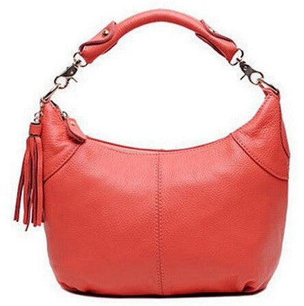 Genuine Leather Shoulder Bag - Belle Valoure - 4