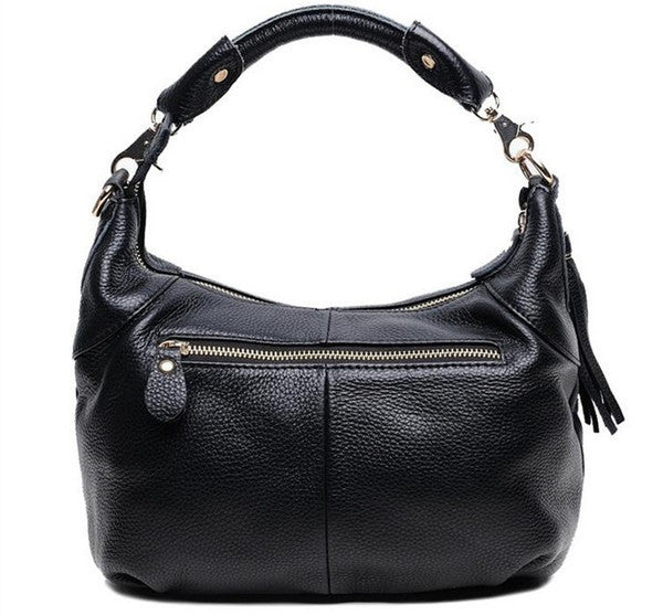 Genuine Leather Shoulder Bag - Belle Valoure - 5