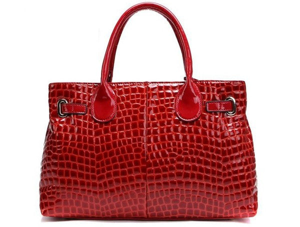Genuine Leather Handbags - Belle Valoure - 3
