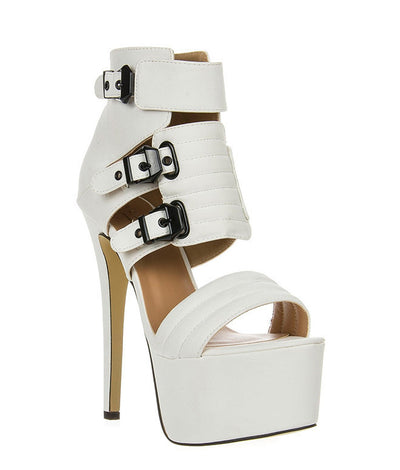 Milia High Heel Sandal - Belle Valoure - 2