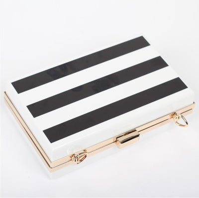Striped Clutch - Belle Valoure - 3