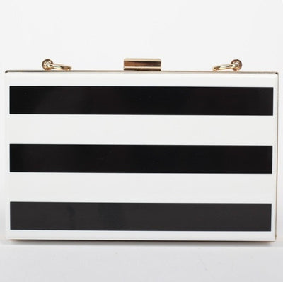 Striped Clutch - Belle Valoure - 1